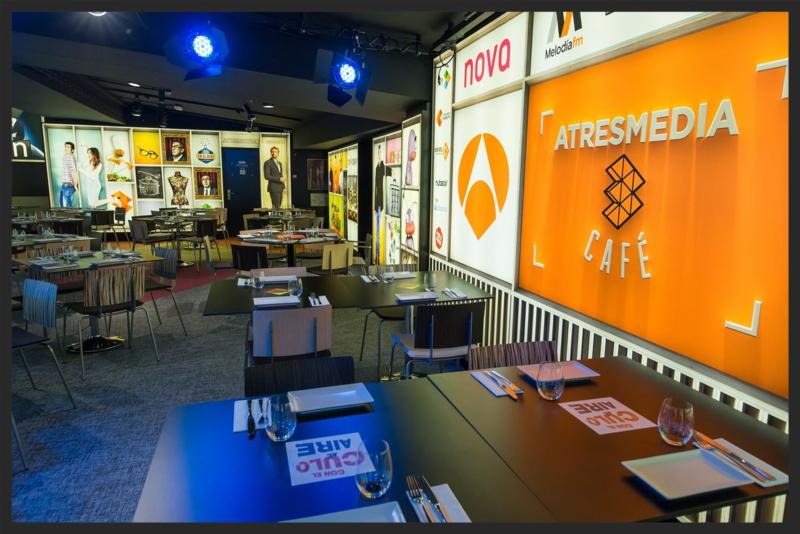 Atresmedia Café en Gran Vía, 55
