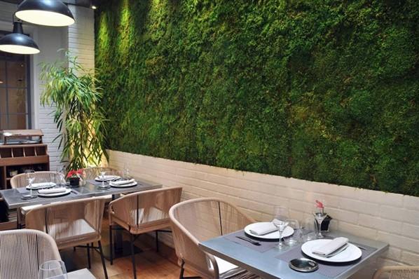 Restaurante edulis la buena vida por nacho terol for Jardin vertical cocina