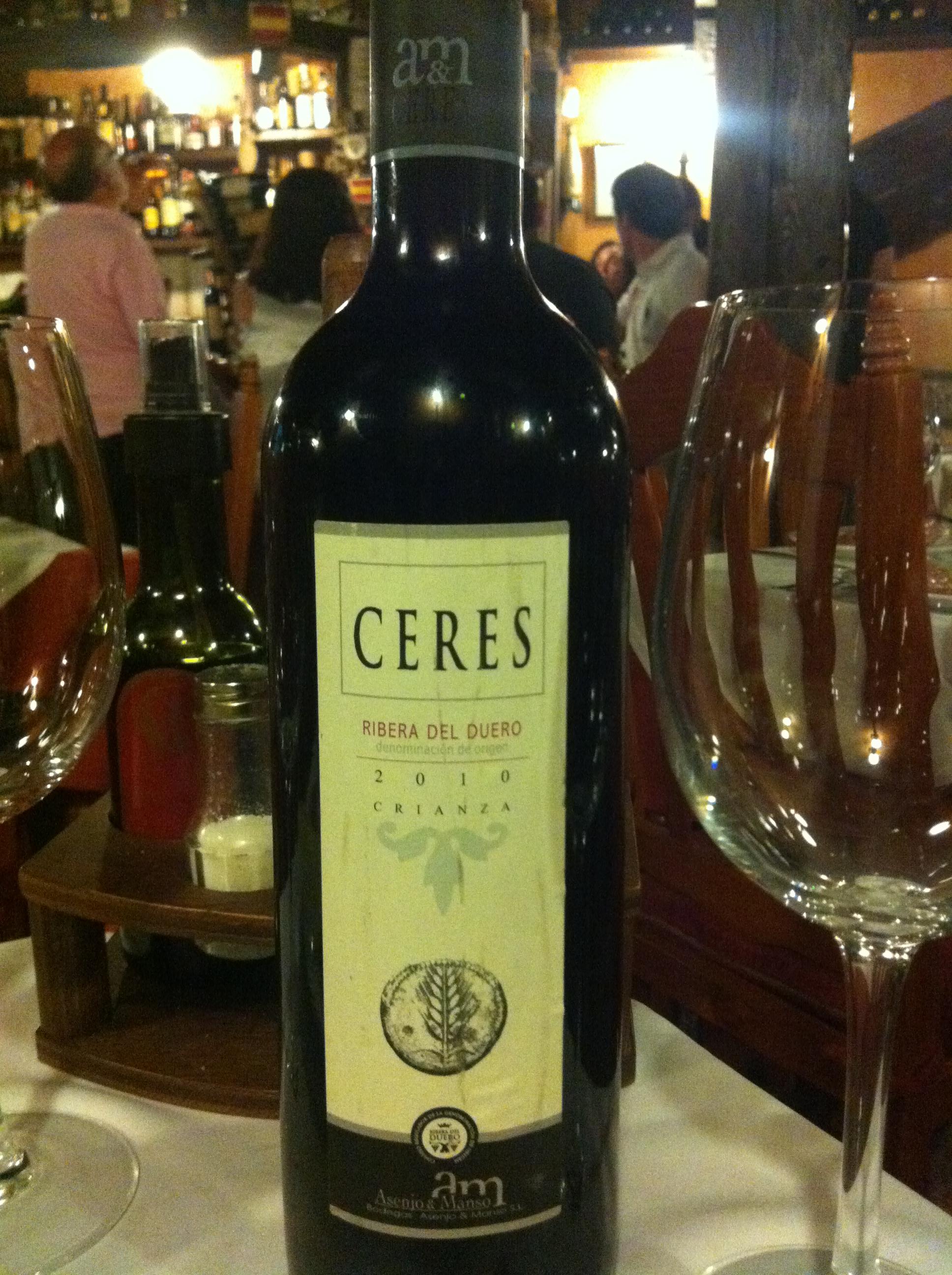 Vino Ceres_Ribera del Duero