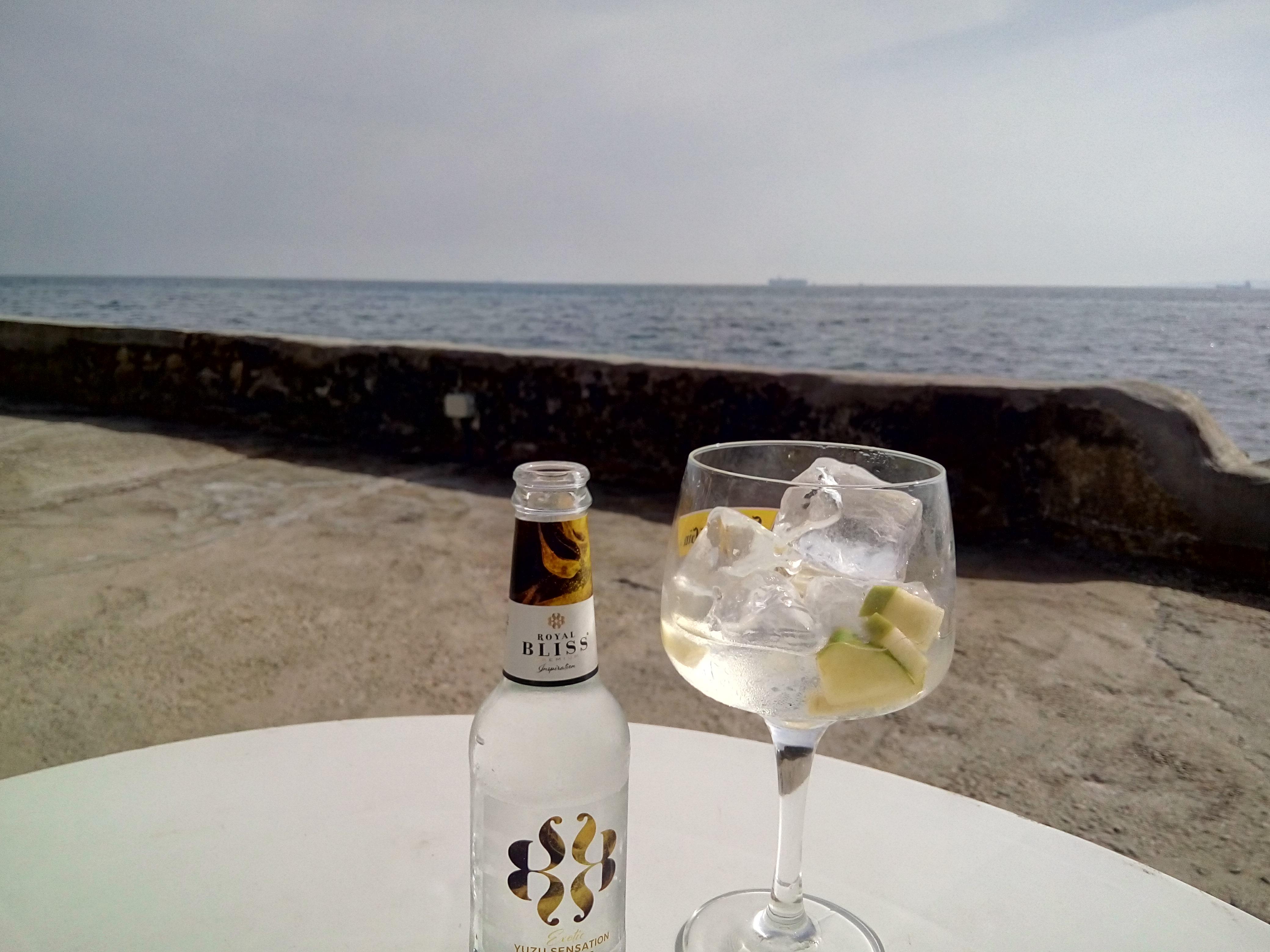 Gin tonic con Royal Bliss Yuzu Sensation _