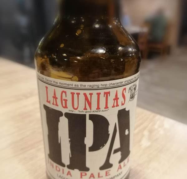 Cerveza IPA. Lagunitas IPA
